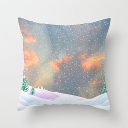 My Snowland | Christmas Spirit Throw Pillow