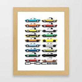 914 Choices Framed Art Print