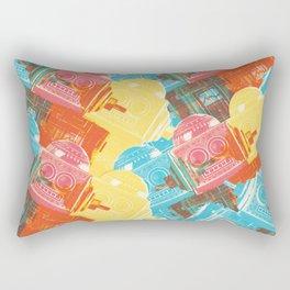 Blip Blop Bleep Rectangular Pillow