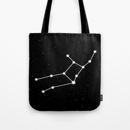 Virgo Star Sign Night Sky Tote Bag