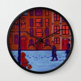Little Match Girl Wall Clock