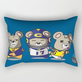 Football Season Rectangular Pillow