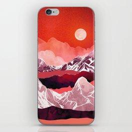 Scarlet Glow iPhone Skin
