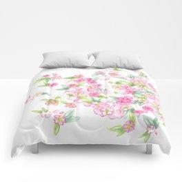 Martha's Flowers Comforters