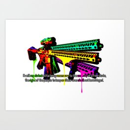 2nd Amendment Art Print