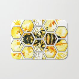 Hive Mentality Bath Mat