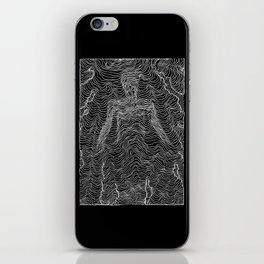 Spectral Lines iPhone Skin