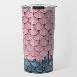 SHELTER / rose and light blue Travel Mug