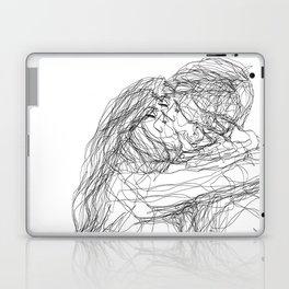 make-out? (B & W) Laptop & iPad Skin