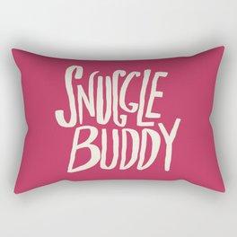 Snuggle Buddy x Pink Rectangular Pillow