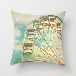 Ferris wheel 1 Throw Pillow