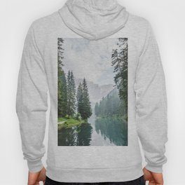 Forest Reflection in Italy Hoody