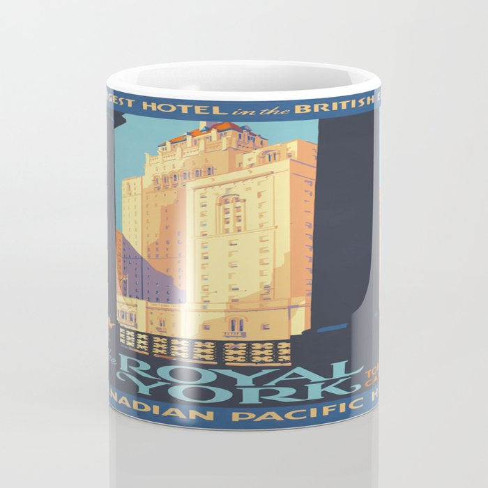 Vintage poster - Toronto Coffee Mug