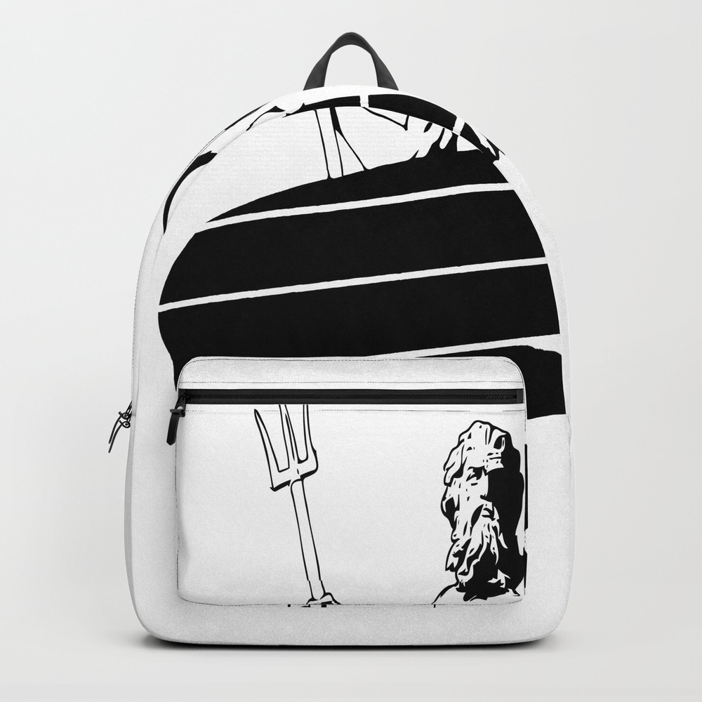 Surf God Backpack by Saltysurfsalad BKP8309865