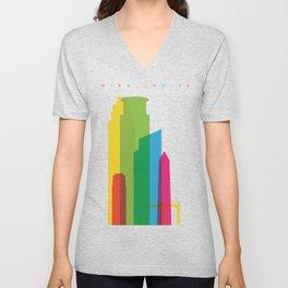 Shapes of Minneapolis Unisex V-Neck