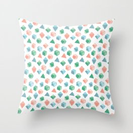 A Pastel Way To Die Throw Pillow