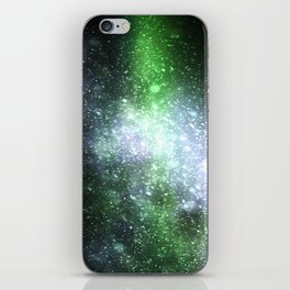 Falling sparkles iPhone Skin