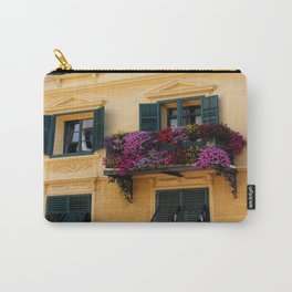 The Yellow Facade Carry-All Pouch