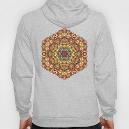 Yellow geometric Mandala Rich ornament Hoody
