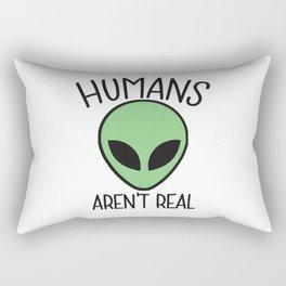 alien humans Rectangular Pillow