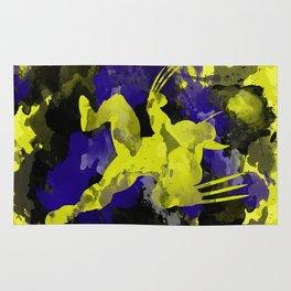 Wolver paint splash Rug