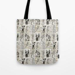 Universal Monster Pattern Tote Bag