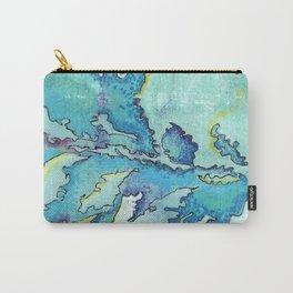 Striation, Brazilian Tide, 1 Carry-All Pouch
