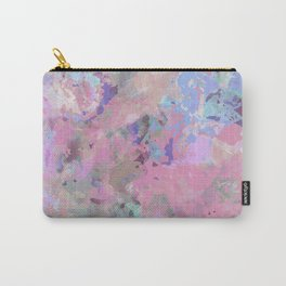 Pink Blush Abstract Carry-All Pouch