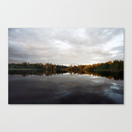Long Lake BC Canvas Print