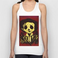 edward scissorhands Tank Tops featuring Edward Scissorhands by Jide