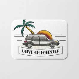 Drive On Forester Bath Mat