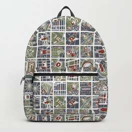 Urban fragments I of‪ NewYork‬, ‎Paris‬, London‬, Berlin‬, Rome‬ and Seville Backpack