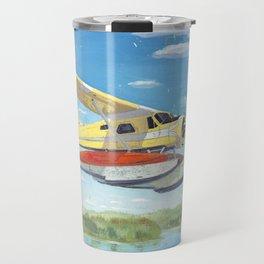float plane - by phil art guy Travel Mug