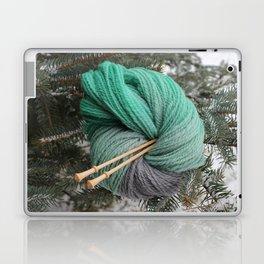 Winter Slytherin Laptop & iPad Skin