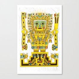 Viracocha Color Canvas Print