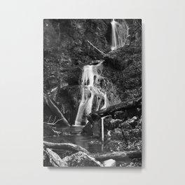 Wasserfall Fischbach Deutschland 2014  Waterfall Fischbach Germany 2014 Metal Print