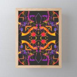 五 (Wǔ) Framed Mini Art Print