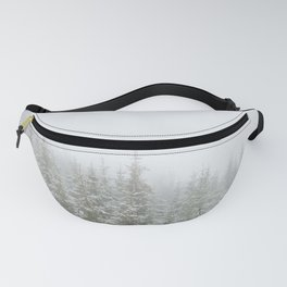 Frosty Forest Fanny Pack