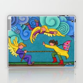 Through The Storm Laptop & iPad Skin