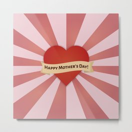 The Mother's Day Art I Metal Print