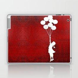 Banksy the balloons Girls silhouette Laptop & iPad Skin
