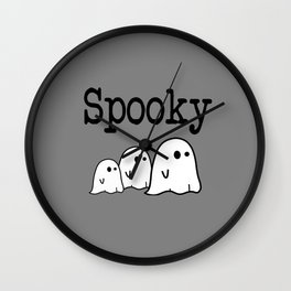 Spooky Ghost  Wall Clock