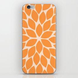 Sherbet Chrysanthemum iPhone Skin
