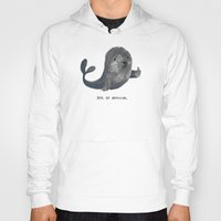 budi Hoodies featuring Seal Of Approval by Picomodi
