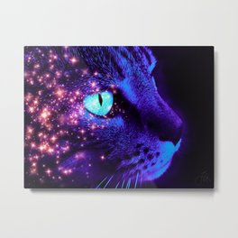 Hunter of the Night Metal Print