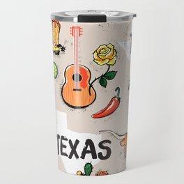 Classic Texas Icons Travel Mug