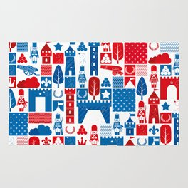 The Great War of Toy Soldiers Rug