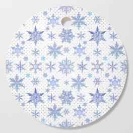 Snowflakes #1 Cutting Board