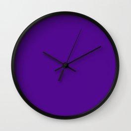 Mysterious Purple Wall Clock