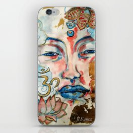 Buddah, lotus and OM iPhone Skin
